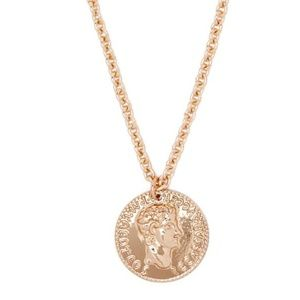 Forever 21 Gold Coin Necklace